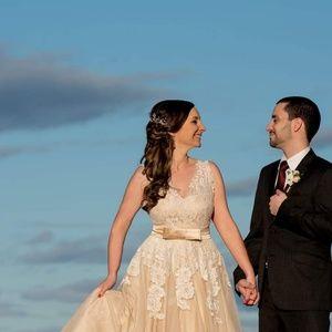 d440d3865980 ModCloth Dresses - ModCloth Memorable Magic Maxi Wedding Dress in Tea